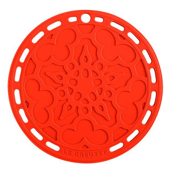Descanso-de-panela-de-silicone-Mandala-Le-Creuset-vermelho-23-cm---17208