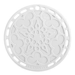 Descanso-de-panela-de-silicone-Mandala-Le-Creuset-branco-23-cm---16425