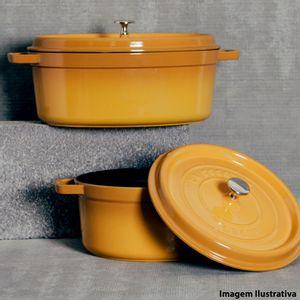 Panela-de-ferro-oval-Staub-amarelo-mostarda-31-cm---13401-