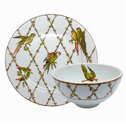 Prato-de-sobremesa-e-bowl-de-ceramica-Parrots-2-pecas---26728