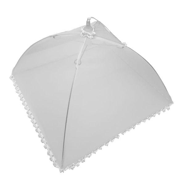 Cobre-bolo-de-tecido-Guarda-Chuva-branco-32-cm---12728
