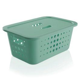 Cesta-organizadora-de-plastico-Ou-verde-30-x-20-x-12-cm---26814