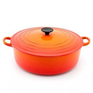 Panela-de-ferro-para-risoto-Le-Creuset-laranja-24-cm---20530