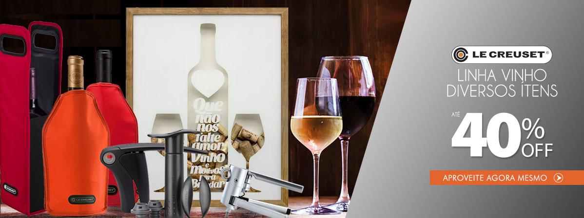 Utensílios de Vinho