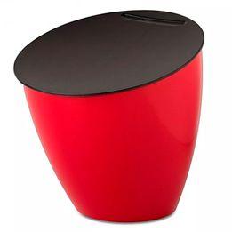 Lixeira-plastica-para-pia-Rosti-Mepal-Calypso-vermelha-3-litros---104869