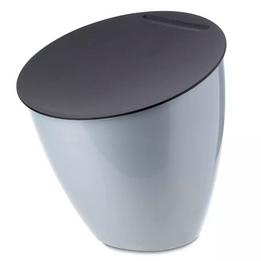 Lixeira-plastica-para-pia-Rosti-Mepal-Calypso-titanium-3-litros---102549