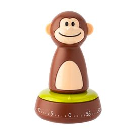 Timer-mecanico-de-plastico-Monkey-Joie-marrom---27341