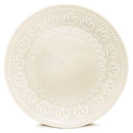 Prato-de-sobremesa-de-ceramica-Relieve-Corona-branca-20-cm---27365