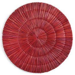 Jogo-de-americano-de-fibra-Oquira-vermelho-38-cm---23403-