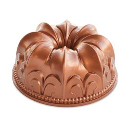 Forma-de-alumino-para-bolo-Flor-de-Lis-Nordic-Ware-cobre-235-x-10-cm---27466-