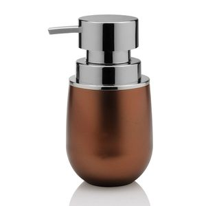 Porta-sabonete-liquido-de-polipropileno-Belly-Vintage-Ou-cobre-15-x-85-cm---27112
