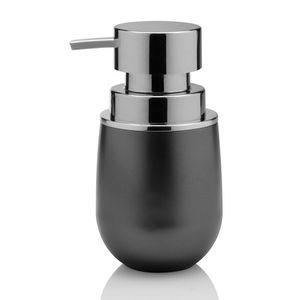 Porta-sabonete-liquido-de-polipropileno-Belly-Vintage-Ou-grafite-15-x-85-cm---27113