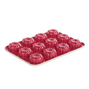 Forma-antiaderente-para-mini-bolo-Nordic-Ware-vermelha-33-x-24-x-3-cm---27691