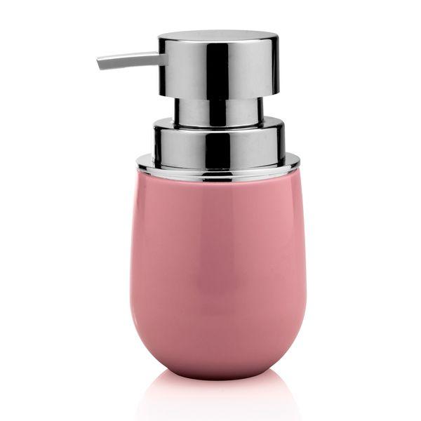 Porta-sabonete-liquido-de-polipropileno-New-Belly-Ou-rosa-400-ml---27093