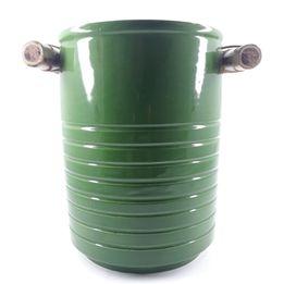 Porta-utensilios-de-ceramica-e-bambu-verde-17-x-14-cm---27789-
