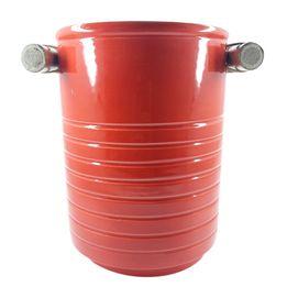 Porta-utensilios-de-ceramica-e-bambu-vermelho-17-x-14-cm---27788