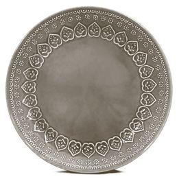 Prato-raso-de-ceramica-Relieve-Corona-cinza-26-cm---27369