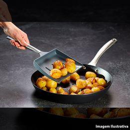 Espatula-vazada-de-nylon-Kitchen-Craft-cinza-32-cm---27738