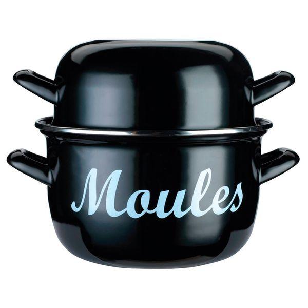 Panela-esmaltada-Moules-Kitchen-Craft-preta-24-cm---27755
