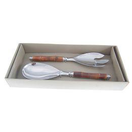 Talher-para-salada-de-aco-inox-e-bambu-2-pecas-27-cm---27139