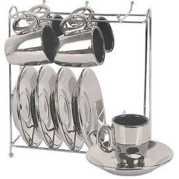 Xicara-de-cafe-de-porcelana-cromada-Vice-Versa-prata-6-pecas-90-ml---27526-