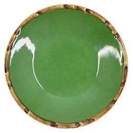 Prato-fundo-de-ceramica-Maison-Blanche-verde-20-cm---28242-