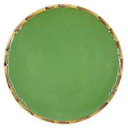 Prato-raso-de-ceramica-Maison-Blanche-verde-27-cm---28234