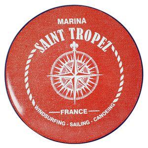 Prato-de-sobremesa-de-ceramica-Marina-Maison-Blanche-vermelho-20-cm---28278