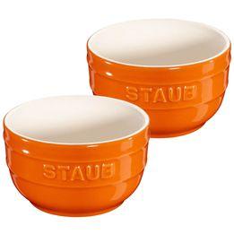 Ramekin-de-ceramica-Staub-laranja-2-pecas-250-ml