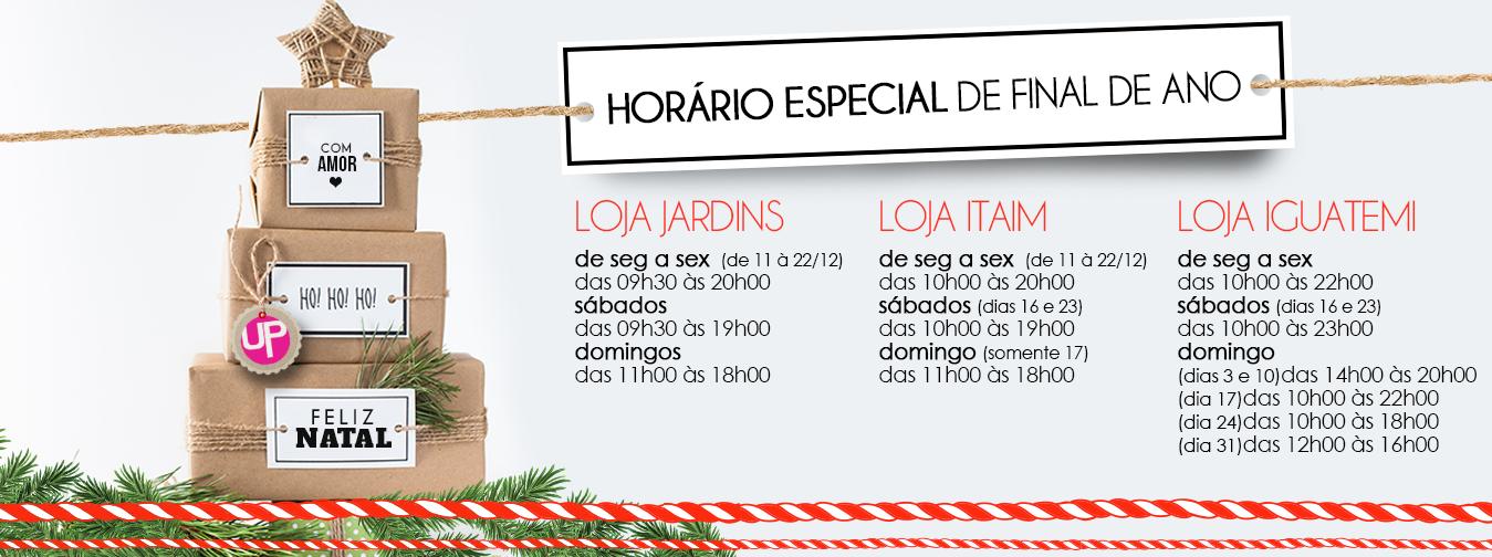 Horário Lojas