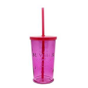 Copo-de-vidro-com-canudo-Summer-pink-500ml---26905