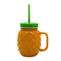 Copo-de-vidro-com-canudo-Abacaxi-laranja-540ml---26927