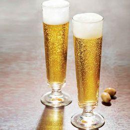 Taça para cerveja de vidro Dortmund Durobor 6 peças 230 ml - 25406