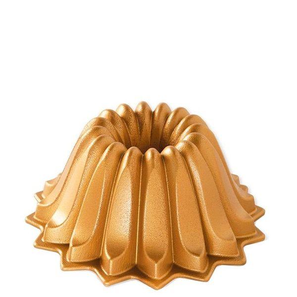 Forma-Antiaderente-Nordic-Ware-Gold-Lotus-19X10CM-–-28754