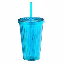 Copo-de-Plastico-Vivid-com-Canudo-Azul-650ML---28816