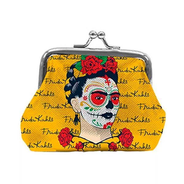 Porta-Moedas-Face-Signs-Frida-Amarelo-10X82CM---28812