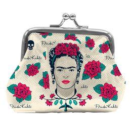 Porta-Moedas-Face-Skull-Frida-Branco-10X82CM---28813-