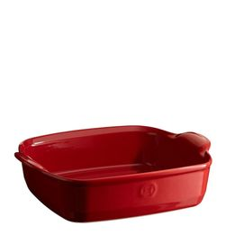 Travessa-de-Ceramica-Emile-Henry-Quadrada-Vermelho-23X23X7cm---28869