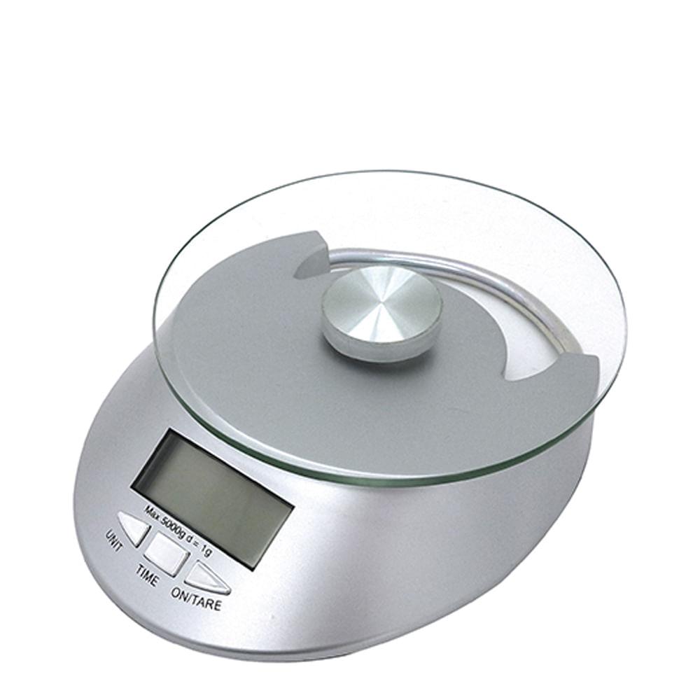Balança Culinária Digital de Vidro 5KG