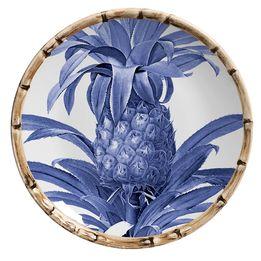 Prato-de-sobremesa-de-ceramica-Maison-Blanche-azul-royal-20-cm---28239
