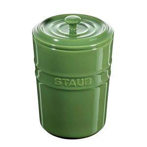 Porta-mantimentos-de-ceramica-Staub-verde-1-litro---24967