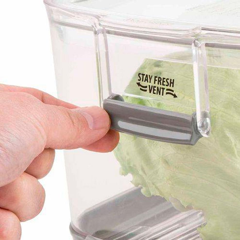 Pote de Acrílico para Frutas e Vegetais Progressive 5,4L