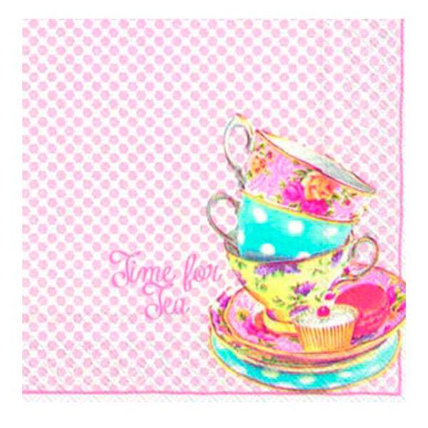 Guardanapo-de-Papel-Time-For-Tea-20-Unidades-25CM---29106