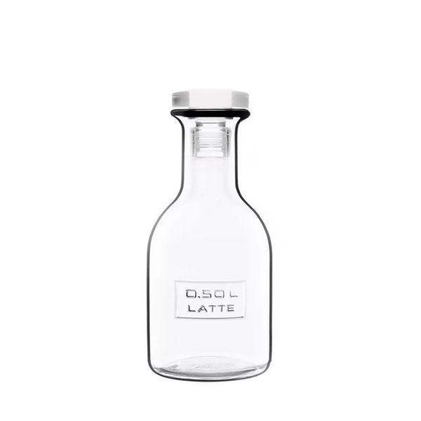 Garrafa-de-Vidro-Optima-Latte-500ml-Luigi-Bormioli---29256