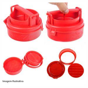 Modelador-de-Hamburguer-Vermelho-12cm---29353