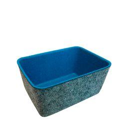 Cesta-Organizadora-Feltro-Azul-Turquesa-15X10---24752