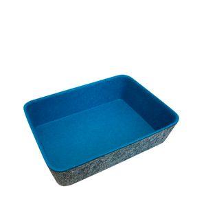 Cesta-Organizadora-Feltro-Azul-Turquesa-18X13---24749