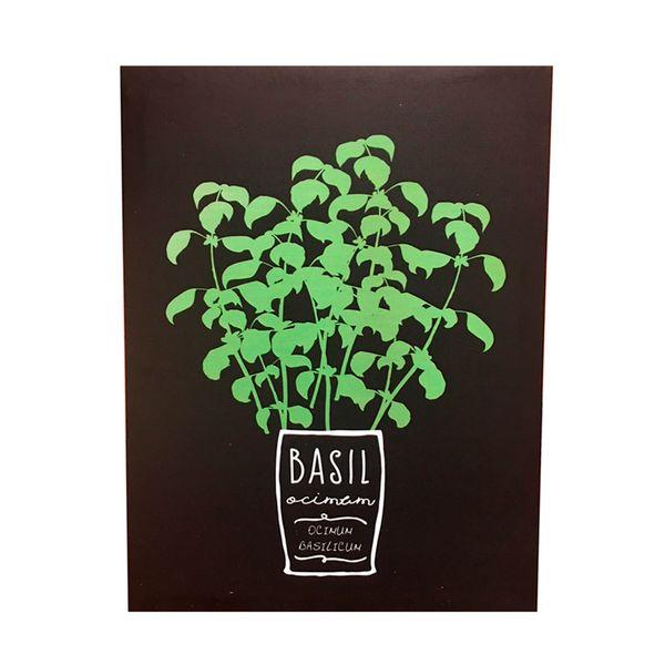 Quadro-Decorativo-Basil-Herbs-40X30---24743