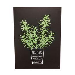 Quadro-Decorativo-Rosemary-Herbs-40X30---24745