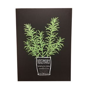 Quadro-Decorativo-Rosemary-Herbs-40X30---24745